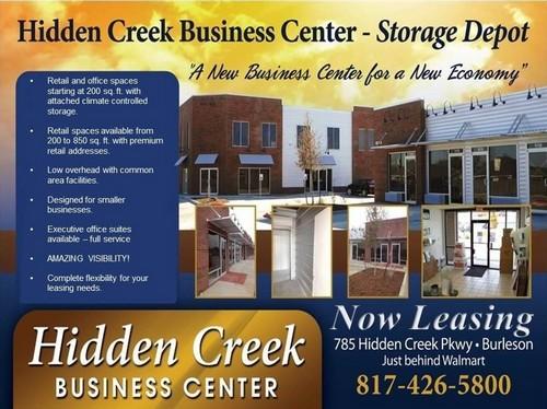 Executive Center space Burleson Texas