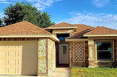 New homes available in Brownsville Texas